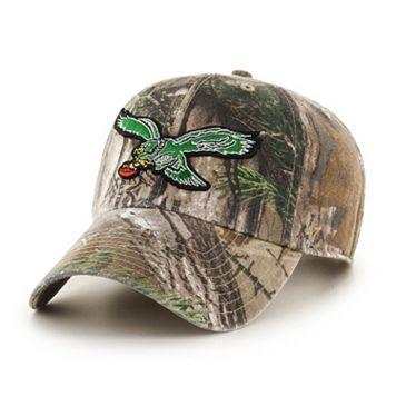 Adult '47 Brand Philadelphia Eagles Realtree Clean Up Adjustable Cap