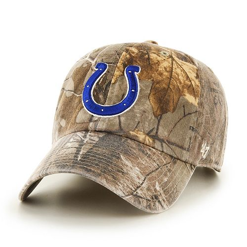 Adult '47 Brand Indianapolis Colts Realtree Clean Up Adjustable Cap