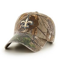 Adult '47 Brand New Orleans Saints Realtree Clean Up Adjustable Cap