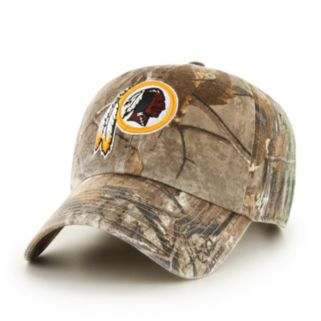 Adult '47 Brand Washington Redskins Realtree Clean Up Adjustable Cap