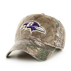 Adult '47 Brand Baltimore Ravens Realtree Clean Up Adjustable Cap