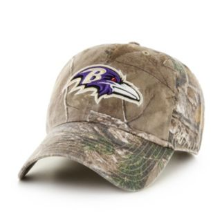 Adult '47 Brand Baltimore Ravens Realtree Clean Up Adjustable Cap