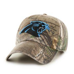 Adult '47 Brand Carolina Panthers Realtree Clean Up Adjustable Cap