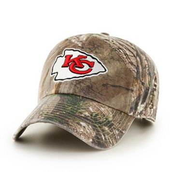 Adult '47 Brand Kansas City Chiefs Realtree Clean Up Adjustable Cap