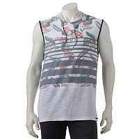 Men's Ocean Current Beasly Sleeveless Hoodie Tee
