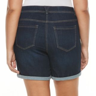 Plus Size Kate and Sam Jean Shorts