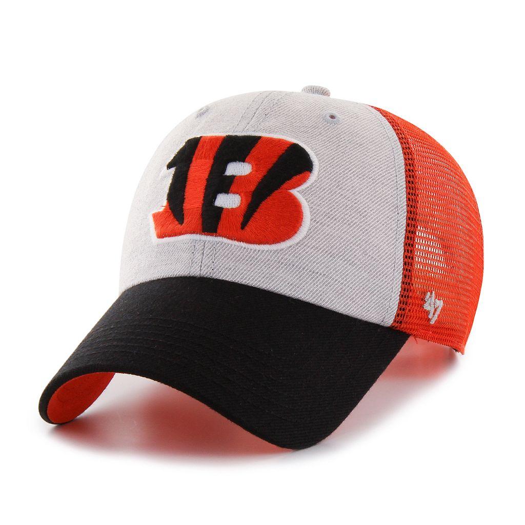 Adult '47 Brand Cincinnati Bengals Belmont Clean Up Adjustable Cap
