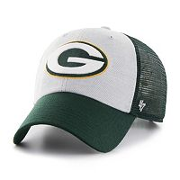 Adult '47 Brand Green Bay Packers Belmont Clean Up Adjustable Cap