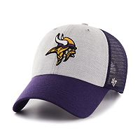Adult '47 Brand Minnesota Vikings Belmont Clean Up Adjustable Cap