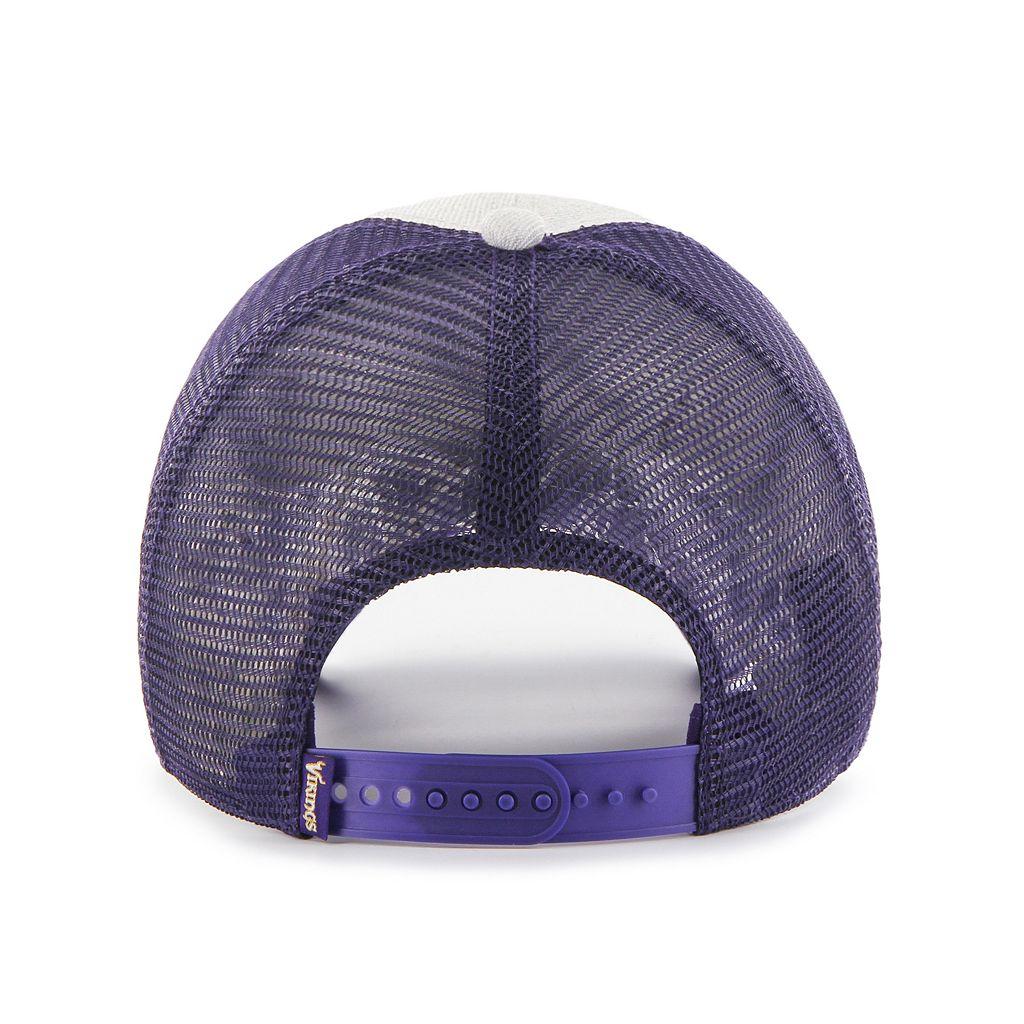 Adult '47 Brand Minnesota Vikings Belmont Clean Up Adjustable Cap