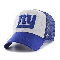 Adult '47 Brand New York Giants Belmont Clean Up Adjustable Cap
