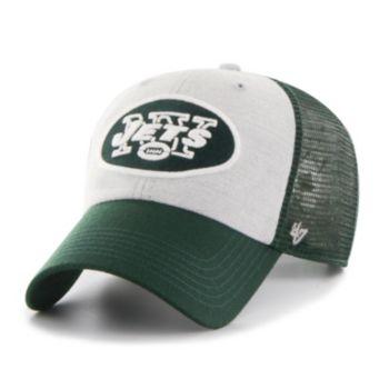 Adult '47 Brand New York Jets Belmont Clean Up Adjustable Cap