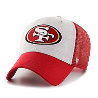 Adult '47 Brand San Francisco 49ers Belmont Clean Up Adjustable Cap