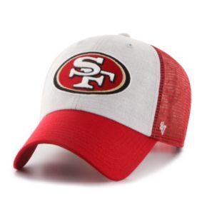 Adult '47 Brand San Francisco 49ers Belmont Clean Up Adjustable Cap