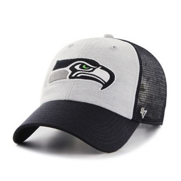 Adult '47 Brand Seattle Seahawks Belmont Clean Up Adjustable Cap