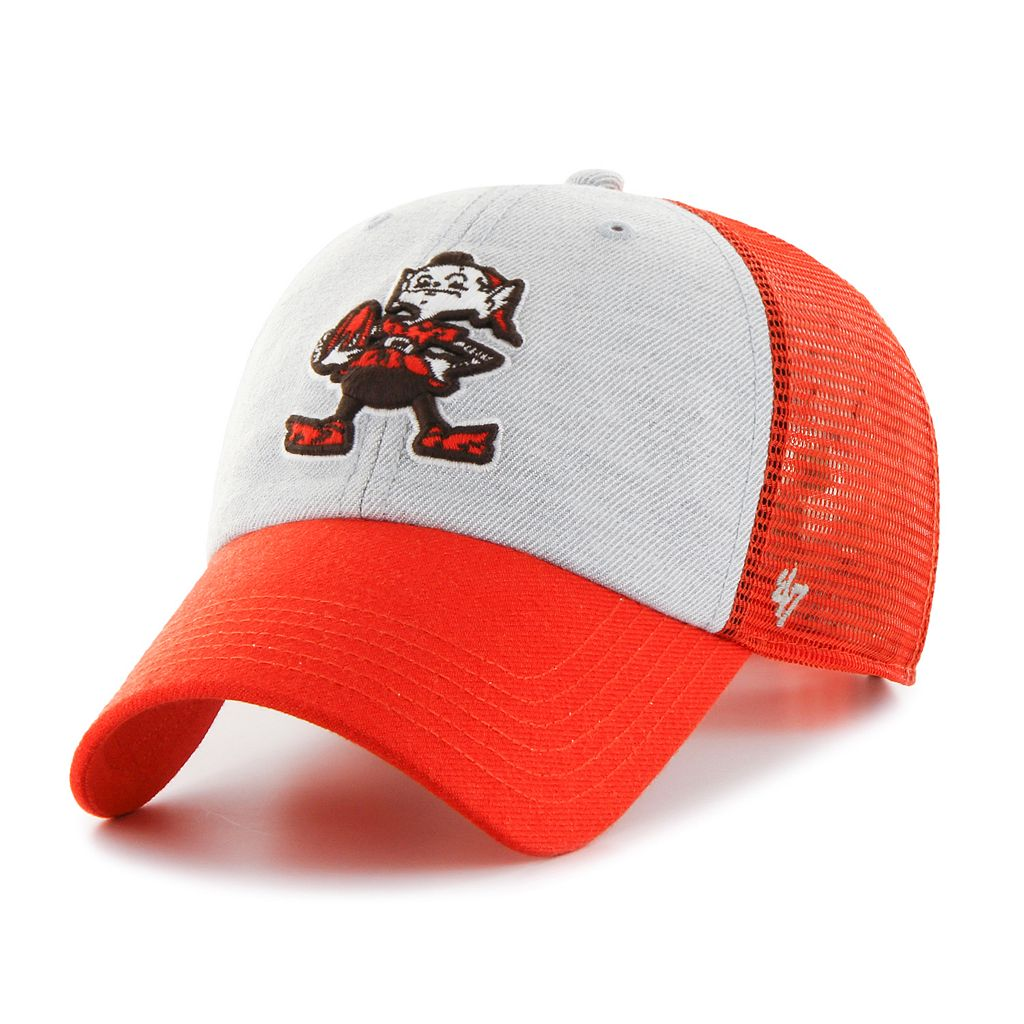 Adult '47 Brand Cleveland Browns Belmont Clean Up Adjustable Cap