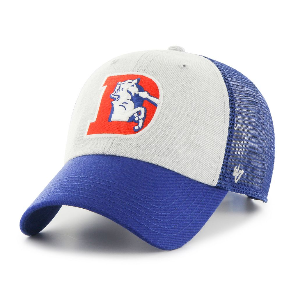 Adult '47 Brand Denver Broncos Belmont Clean Up Adjustable Cap
