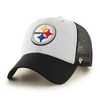 Adult '47 Brand Pittsburgh Steelers Belmont Clean Up Adjustable Cap