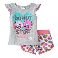 Girls 4-6x Shopkins D'lish Donut & Daisy Donut