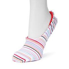 MUK LUKS Women's Ballerina Gripper Slipper Socks