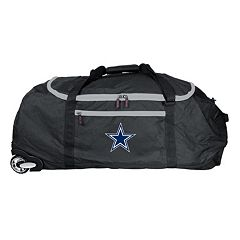 Denco Dallas Cowboys Wheeled Collapsible Duffel Bag