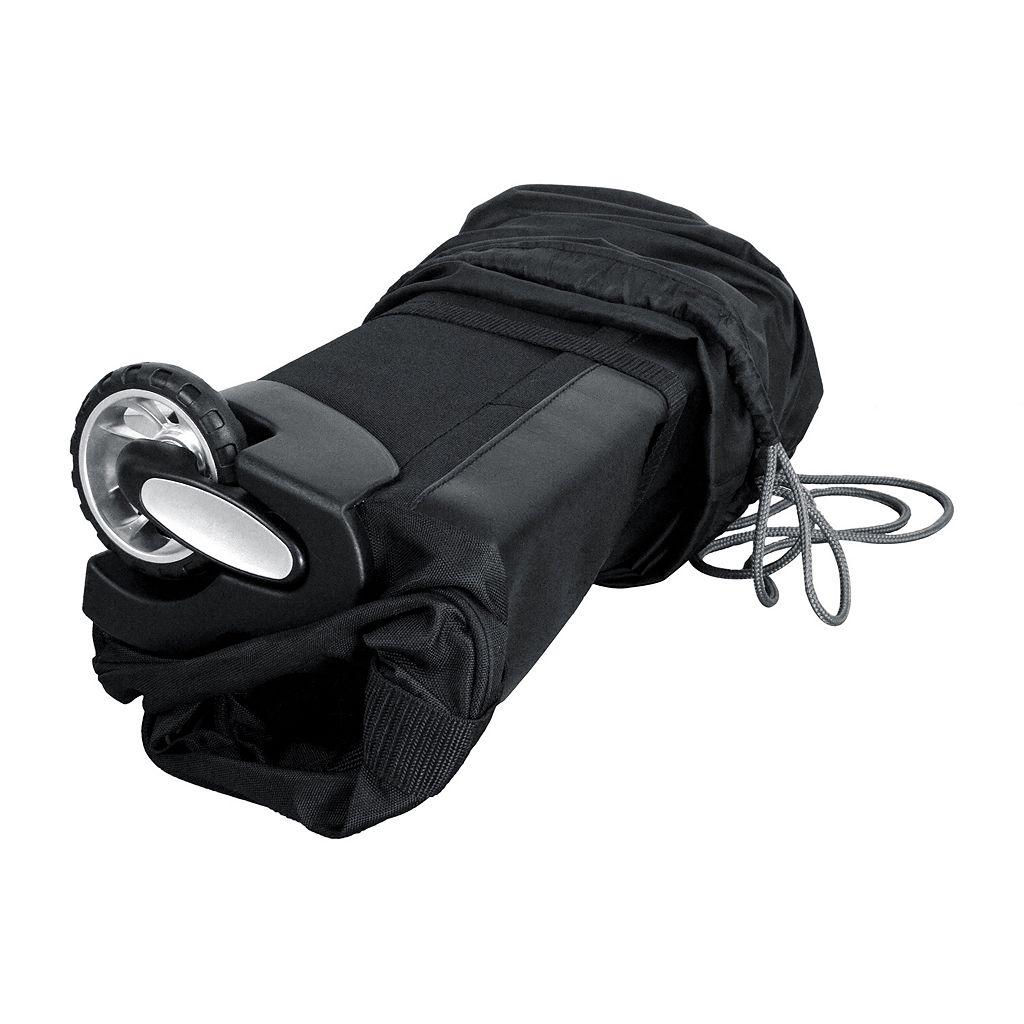 Denco Dallas Cowboys Wheeled Collapsible Duffel Bag