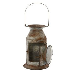 Milk Canister Lantern Candle Holder