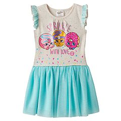 Girls 4-7 Shopkins Daisy Donut, Dolly Donut & D'lish Donut Dress