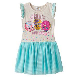 Girls 4-7 Shopkins Daisy Donut, Dolly Donut & D'lish Donut Dress