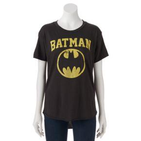 Juniors' DC Comics Batman Logo Graphic Tee