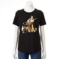 Juniors' J.K. Rowling Fantastic Beasts Metallic Graphic Tee