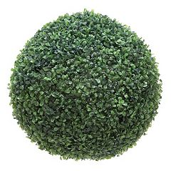 Artificial Boxwood Ball Table Decor