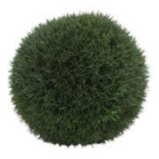 12-in. Artificial Grass Ball Table Decor