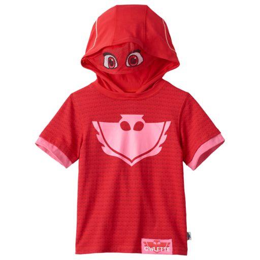 Girls 4-7 PJ Masks Owlette Costume Tee