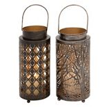 Medium Lantern Candle Holder 2-piece Set