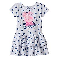 Girls 4-7 Peppa Pig Dot Dress