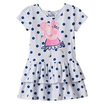 Girls 4-7 Peppa Pig Dot Dress