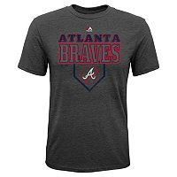 Boys 8-20 Majestic Atlanta Braves Heirloom Tee