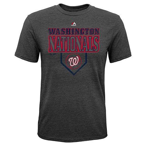 Boys 8-20 Majestic Washington Nationals Heirloom Tee