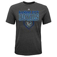 Boys 8-20 Majestic Kansas City Royals Heirloom Tee