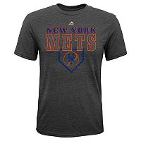 Boys 8-20 Majestic New York Mets Heirloom Tee