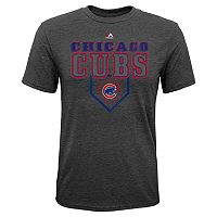 Boys 8-20 Majestic Chicago Cubs Heirloom Tee