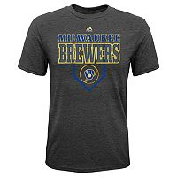 Boys 8-20 Majestic Milwaukee Brewers Heirloom Tee