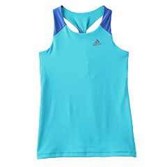 Girls 4-6x adidas Colorblock Twist Back Tank Top