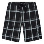 Toddler Boy Hurley Puerto Rico Plaid Boardshort Swim Trunks