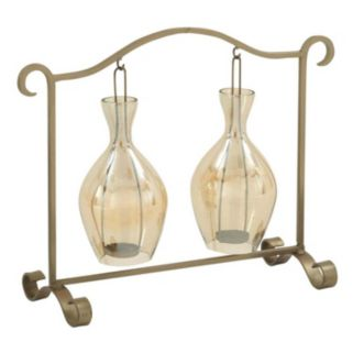 Hanging Glass Candle Holder Table Decor