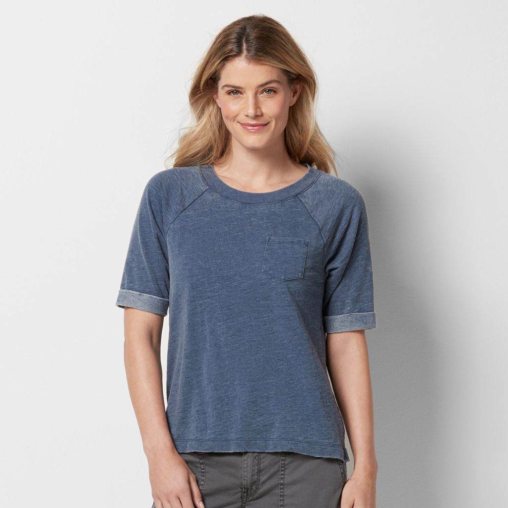 Women's SONOMA Goods for Life™ French Terry Raglan Sweatshirt
