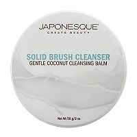 Japonesque Gentle Coconut Cleansing Balm Solid Brush Cleanser