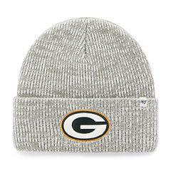 Adult '47 Brand Green Bay Packers Brain Freeze Cuffed Knit Cap
