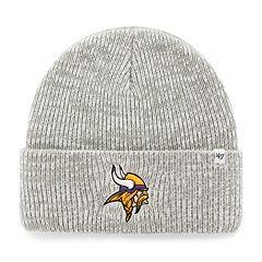 Adult '47 Brand Minnesota Vikings Brain Freeze Cuffed Knit Cap